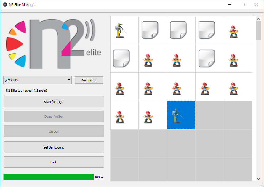 N2 Elite Manager with N2 elite chip loaded