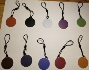 NTAG215 tags- assortment of 10