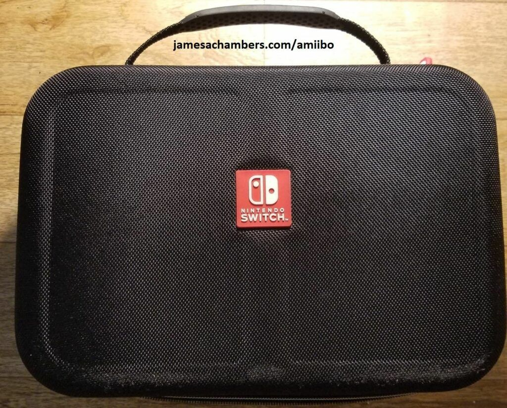 Nintendo Switch case closed up
