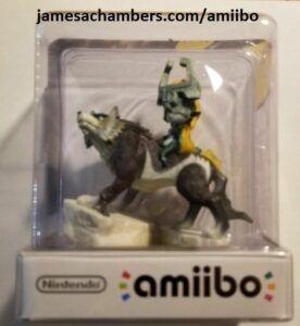 Official Nintendo Wolf Link Amiibo