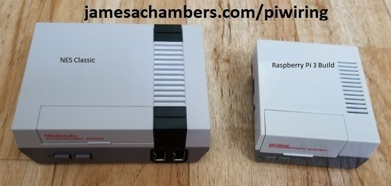NES Classic vs RPI 3 Build