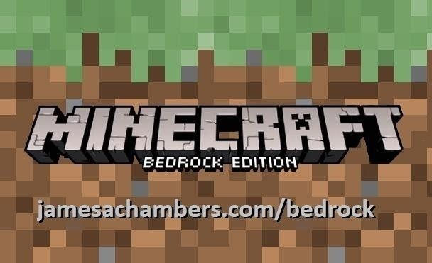 Minecraft Bedrock Edition Logo