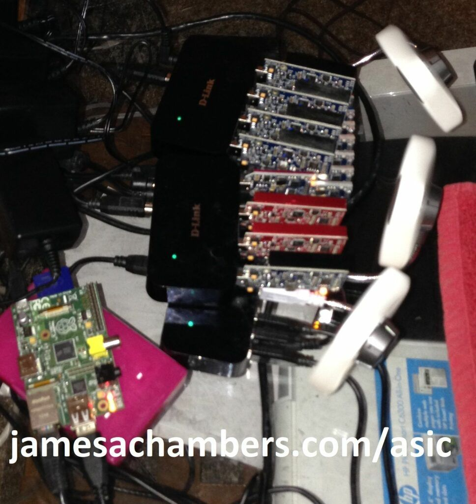 Raspberry Pi / USB Hubs / Blue Furies / Red Furies / Block Erupters