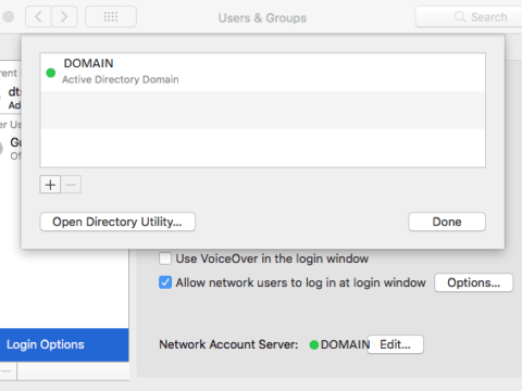 Mac AD Join Successful