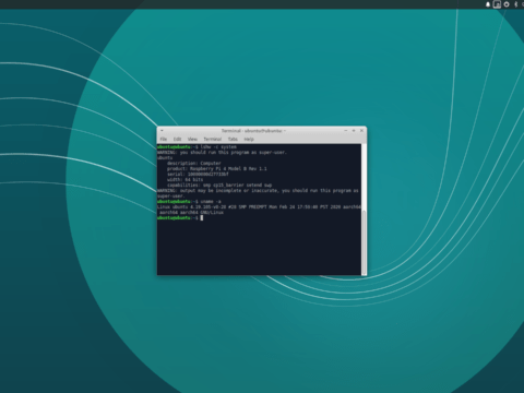 Xubuntu 18.04 Desktop Screenshot