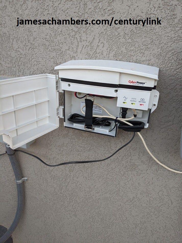 CyberPower Outdoor UPS Installation