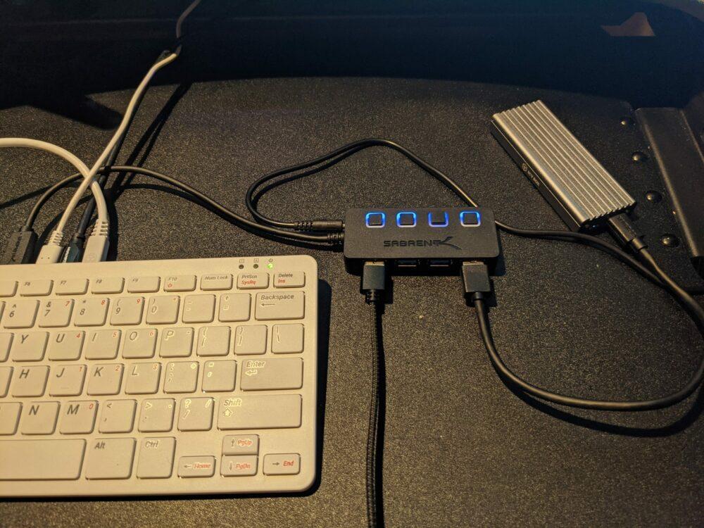 Pi 400 USB Wiring